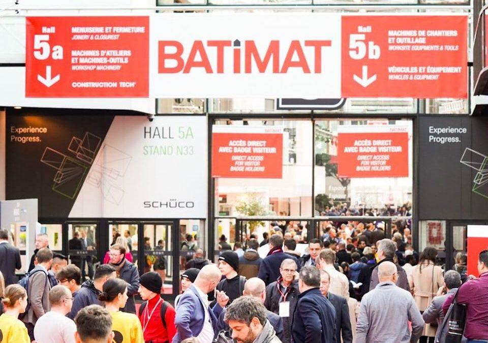 Socage asiste a la prestigiosa feria de construcción BATIMAT 2019