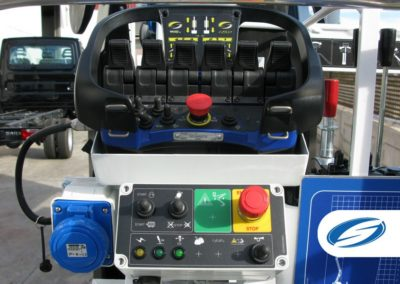 ForSte spj315 controles plataforma elevadora de oruga