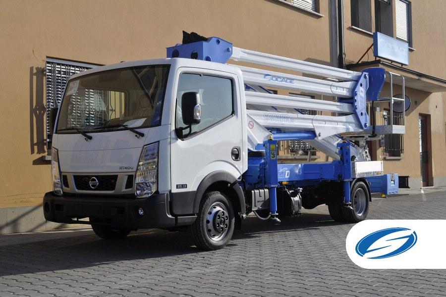 camion con cesta ForSte 28D Socage