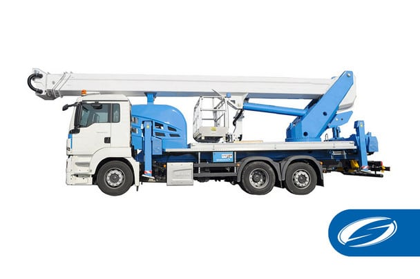 camion cesta con jib ForSte 51TJ Socage