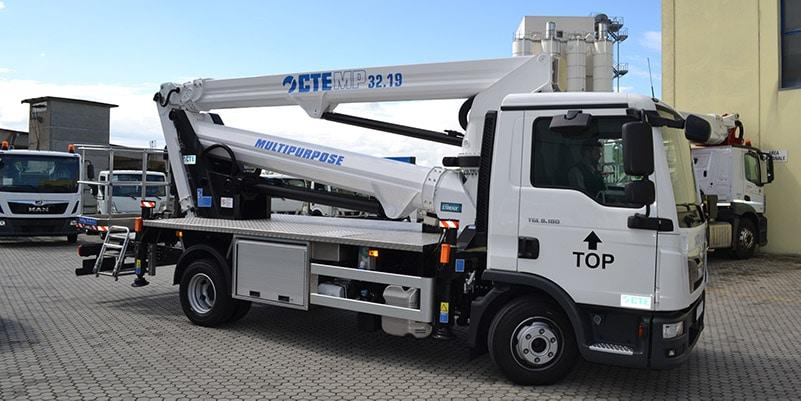 camion con cesta CTE