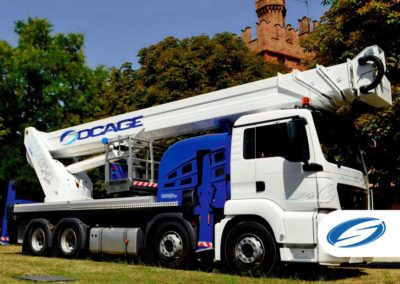 camion con cesta elevadora telescopica jib ForSte 54TJJ Socage