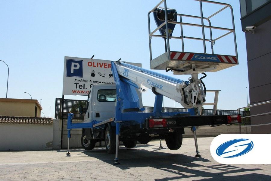 ForSte20T plataforma elevadora sobre camión Socage
