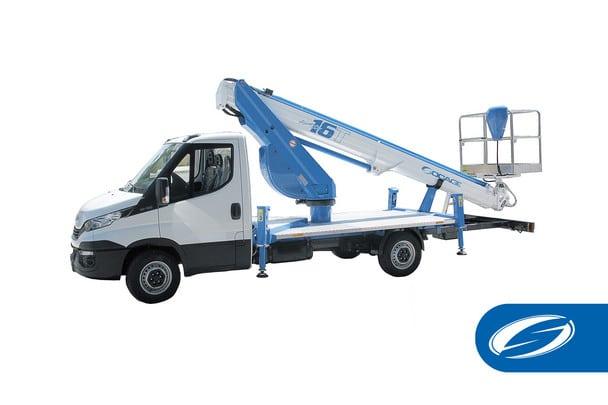 camión con cesta elevadora para camion ForSte 16T Socage