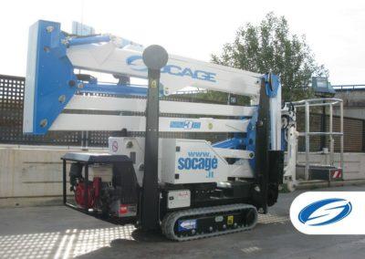 oruga ForSte spj315 maxima compacidad Socage