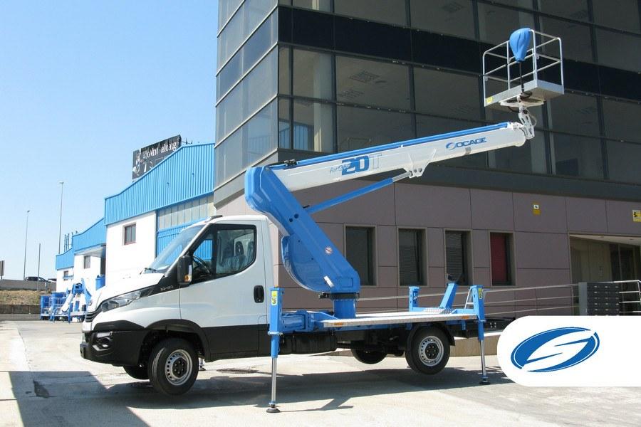 Socage ForSte20T plataforma elevadora sobre camión