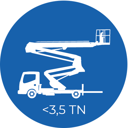 Plataformas aéreas <3,5 TN