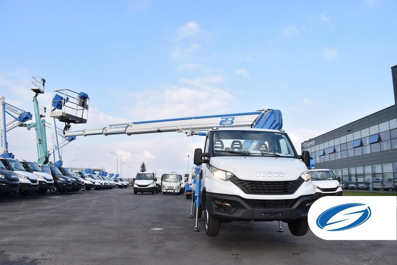 Camión con cesta ForSte 23T SPEED alcance lateral