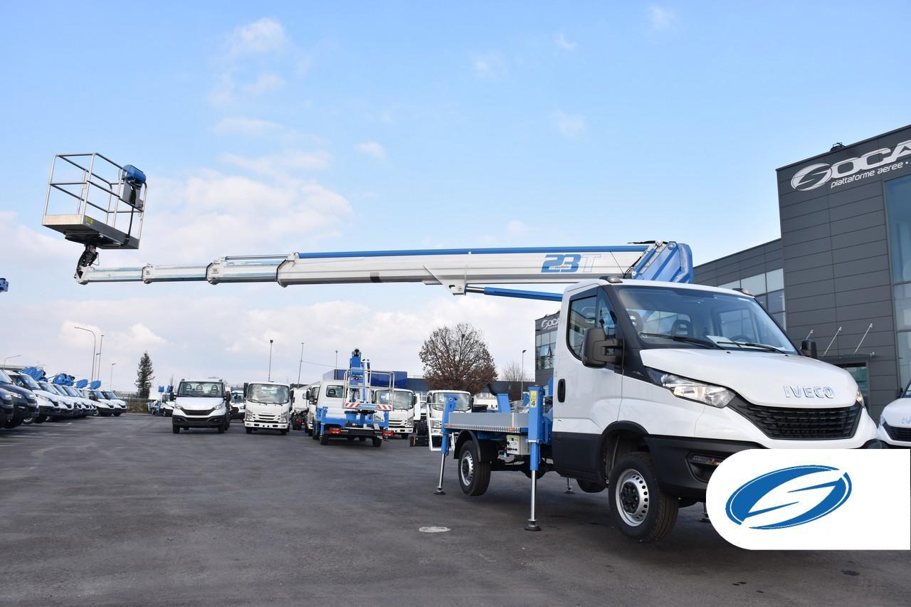 Camión con cesta ForSte 23T alcance lateral