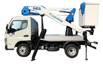 Camión con cesta Socage ForSte 14A