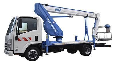 ForSte 20tj camion con cesta elevadora Socage