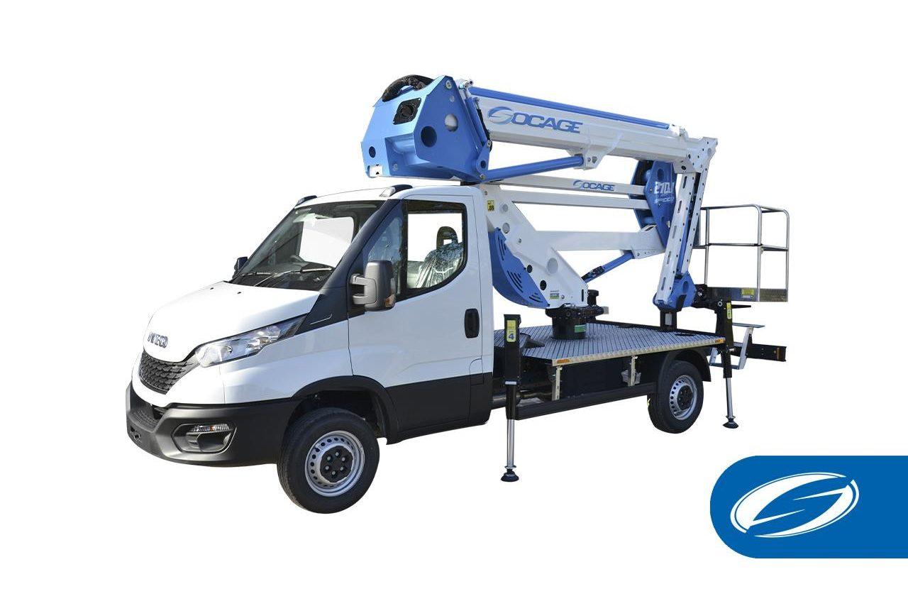 ForSte 21dj speed camion con cesta elevadora socage