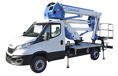 ForSte 21dj speed camion con cesta elevadora