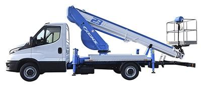 ForSte 23T camion con cesta elevadora Socage