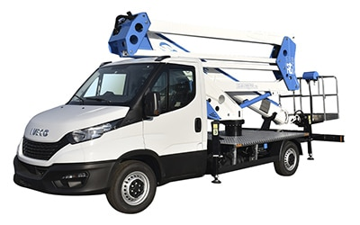 ForSte 24D camion con cesta elevadora