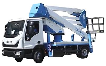 ForSte 28DA speed camion cesta