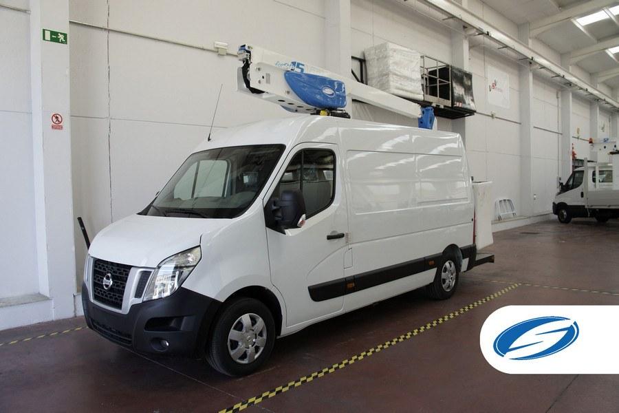furgone con cestello elevatore ForSte 15VT capacita di carico Socage