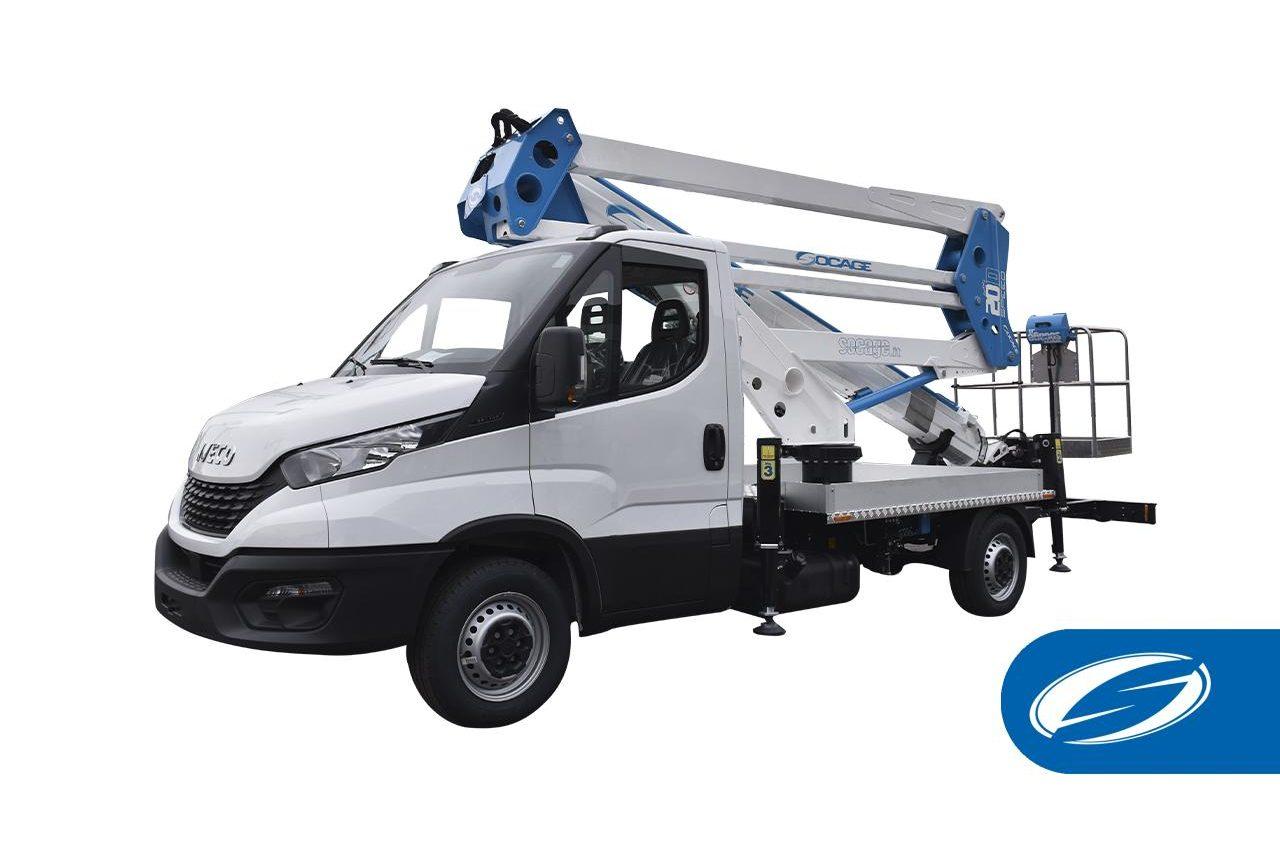 Camión cesta ForSte 20D speed Socage