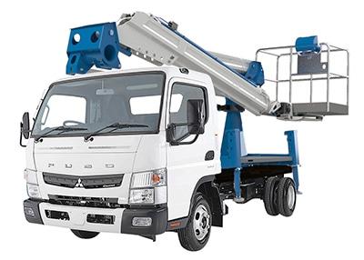 camion con cesta elevadora Socage ForSte 16A