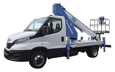 camion con cesta elevadora Socage ForSte 18T