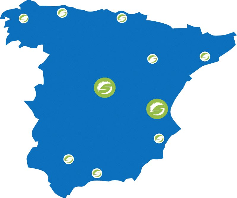 mapa distribuidores socage