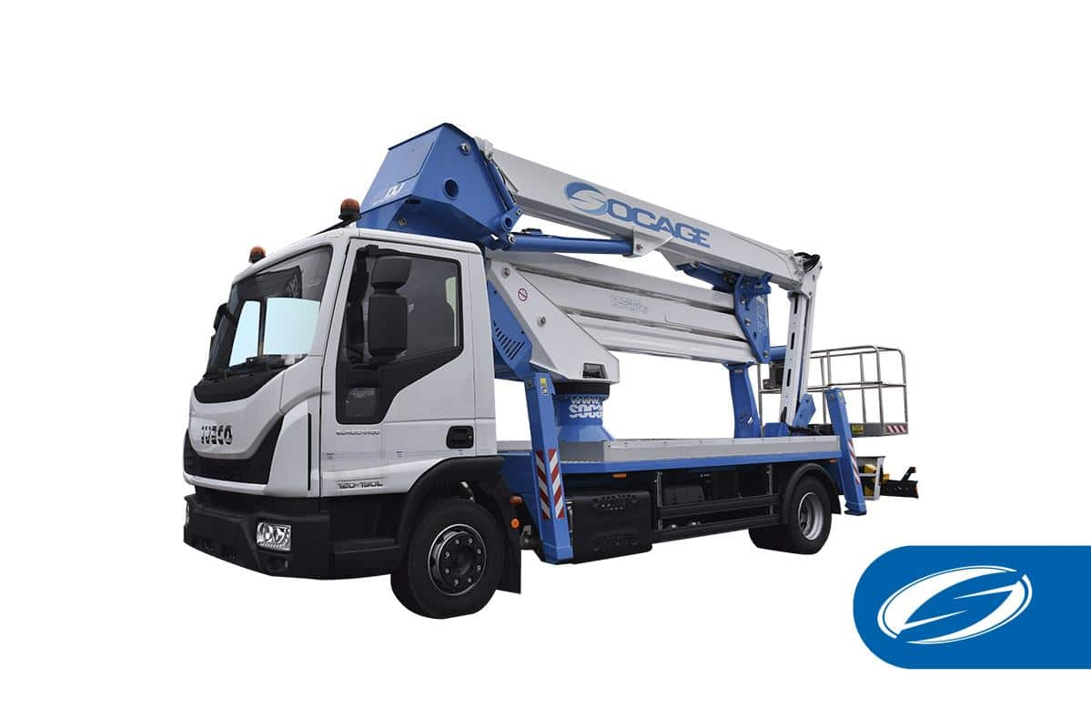 Camión con cesta elevadora 32DJ SPEED