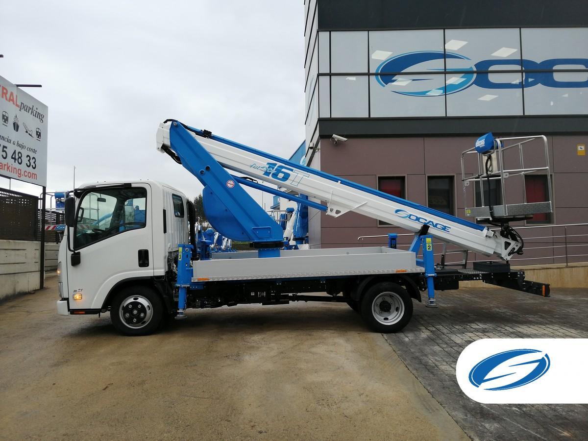ForSte 16T Socage camión con cesta elevadora