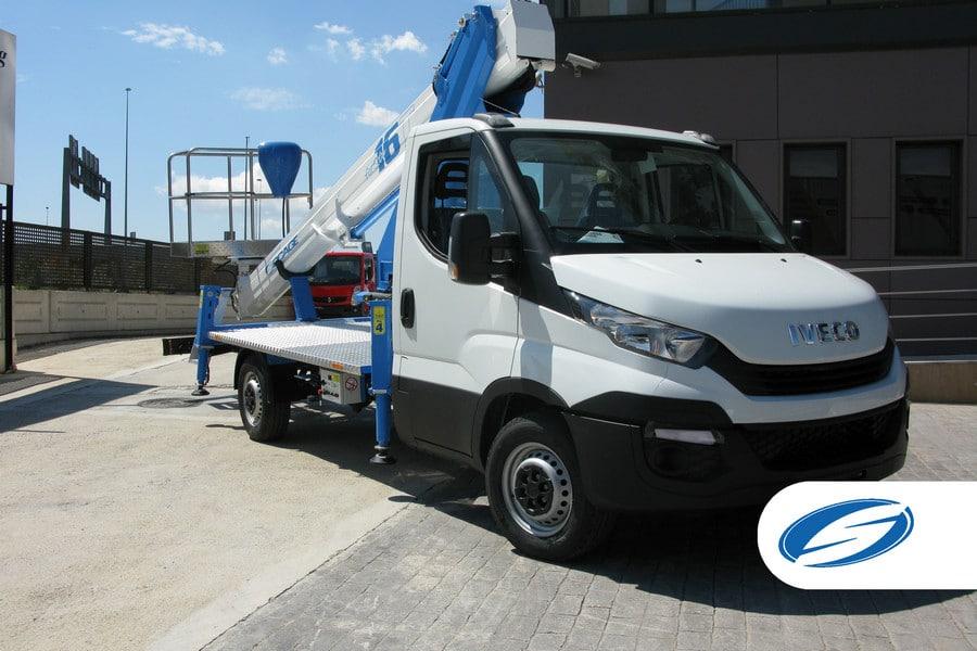 camion con cesta elevadora Socage ForSte 16T