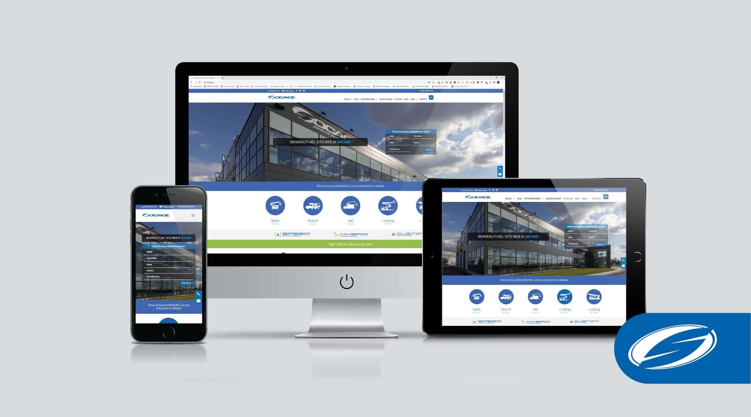 Socage nueva web de plataformas aereas